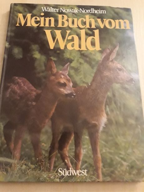 Książka w jęz. niem. Mein Buch vom Wald
