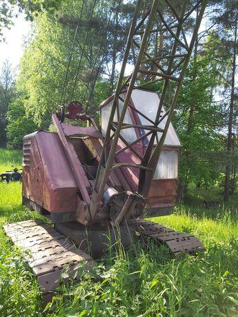 Koparka linowa Waryński KM 251 wędka