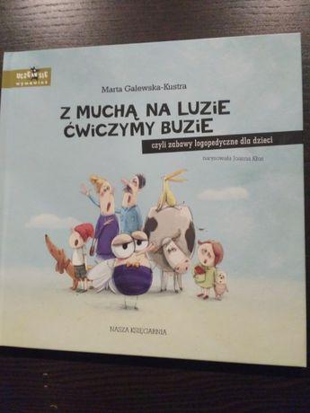 Książka - Z muchą na luzie ćwiczymy buzię - M. Galewska-Kustra!