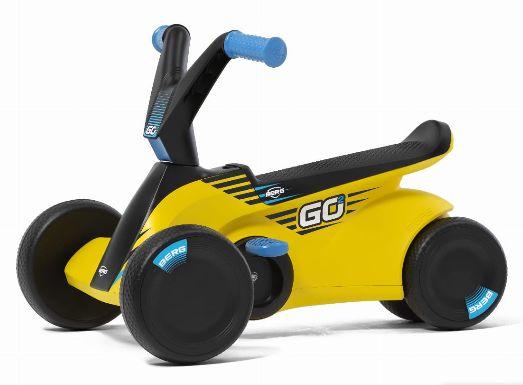 BERG gokart na pedały Go2 Sparx Yellow jeździk