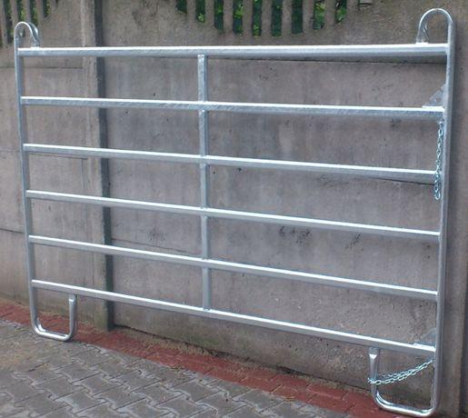 Wygrodzenia płotki panele dla koni ocynkowane 2,4 3,0 3,6 m