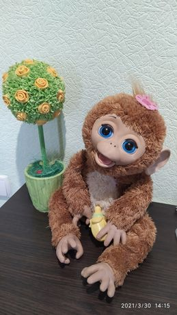 Смешливая обезьянка FurReal Friends, Hasbro