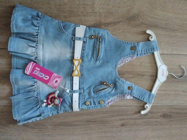 Новые разные джинсовые сарафаны для девочки, Турция