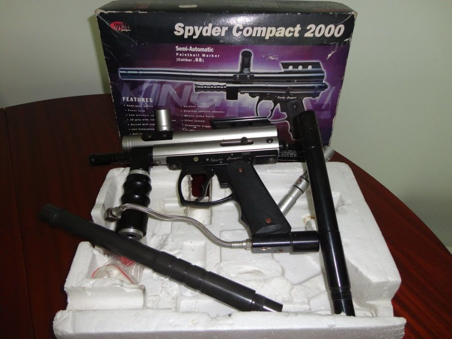 """Paintball """"Spyder Compact 2000"""" Benfica - imagem 1"""