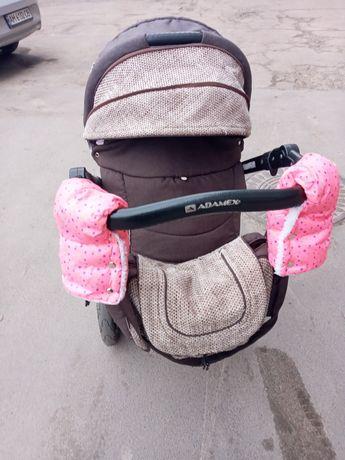 Автокрісло +ADAMEX Pajero (2 в 1) адамекс паджеро дитяча коляска