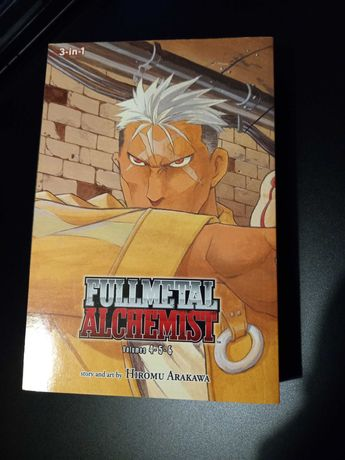 Fullmetal Alchemist 3-in-1 vol.4-5-6