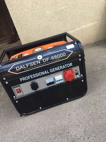 Generator, agregat prądotwórczy Dalfsen DF-6800