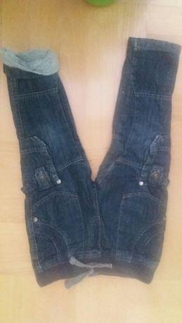 Spodnie 98 z podszewką