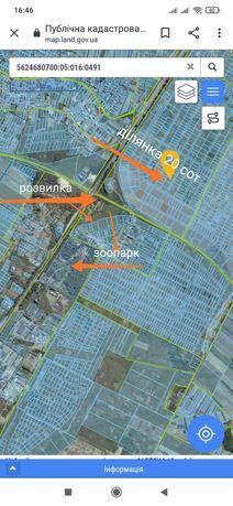Продаж ділянки масив Київський