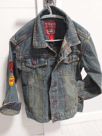 Продам джинсовый пиджак на мальчика в идеальном состоянии!
