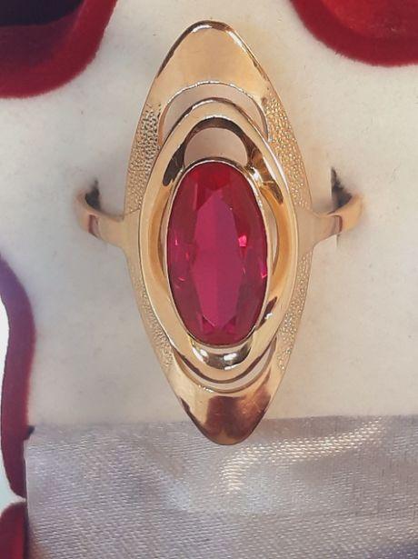 Золотое советское кольцо 583 эллипс
