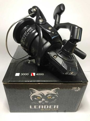 Катушка Leader Black Cat 4000  (усиленнный корпус)