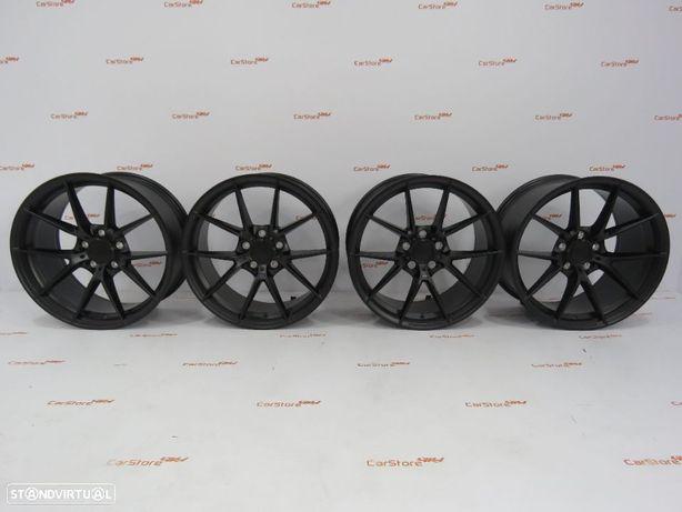 Jantes Look Bmw M4 Cs 18 x 8 et34 + 9 et 41 5x120 Preto Matte