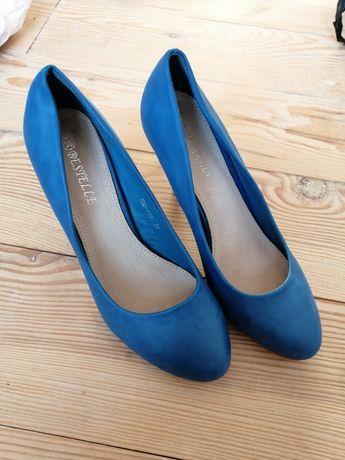 Туфлі жіночі ідеальний сиан