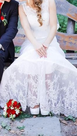 Свадебное платье Tina айвори в идеальном состоянии