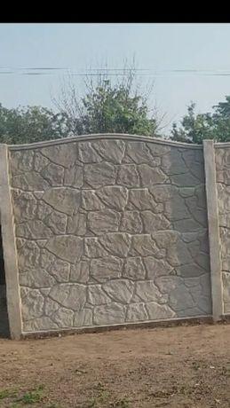 Еврозабор + НОВИЙ (під камінь)