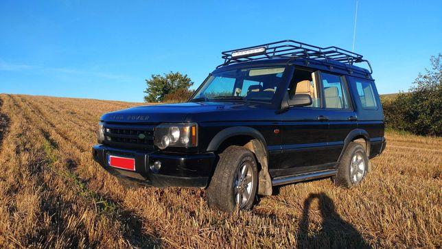 Land Rover Discovery 2 lift Jasna skóra, ACE, automat bagażnik LED TD5