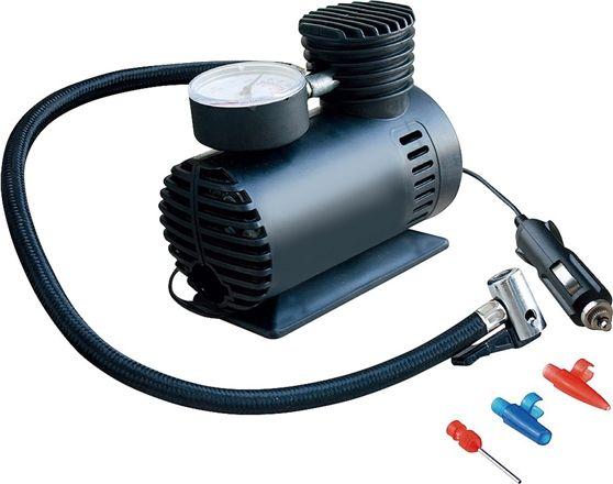 Compressor Auto com 3 Acessórios 12V 7A - Novo