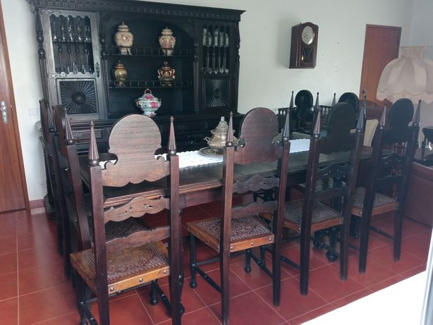 Mobília casa de jantar óptimo estado