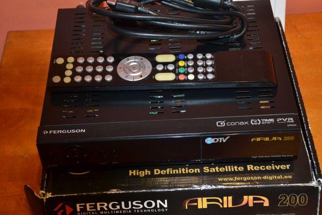 Tuner satelitarny FergusonAriva 200DVB-S/S2 Ful HD