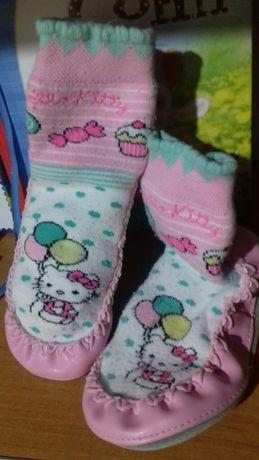 чешки тапки пинетки балетки носки