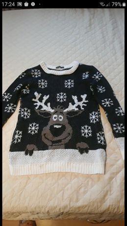 Sweter śwìateczny M