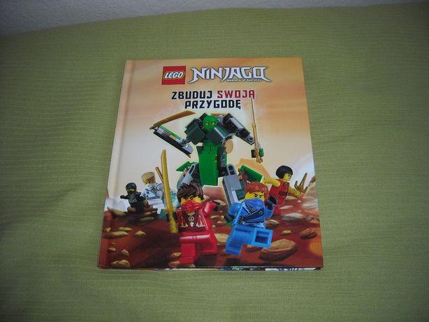 """Lego Ninjago książka """"Zbuduj swoją przygodę"""""""