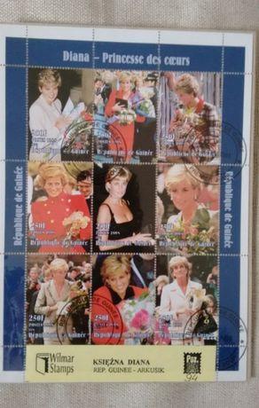 Znaczki pocztowe Księżna Diana