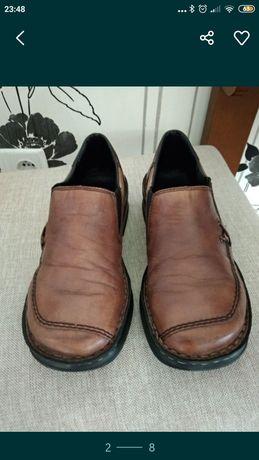 RIEKER,  туфлі  шкіряні
