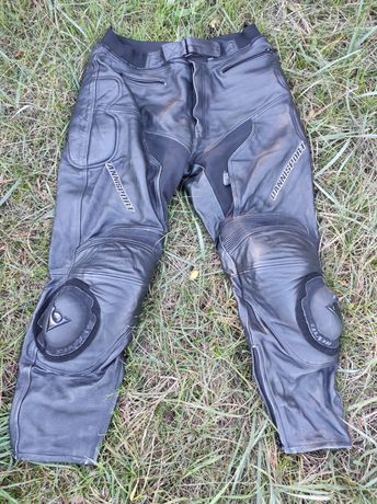 Мужские кожаные мотоштаны xl