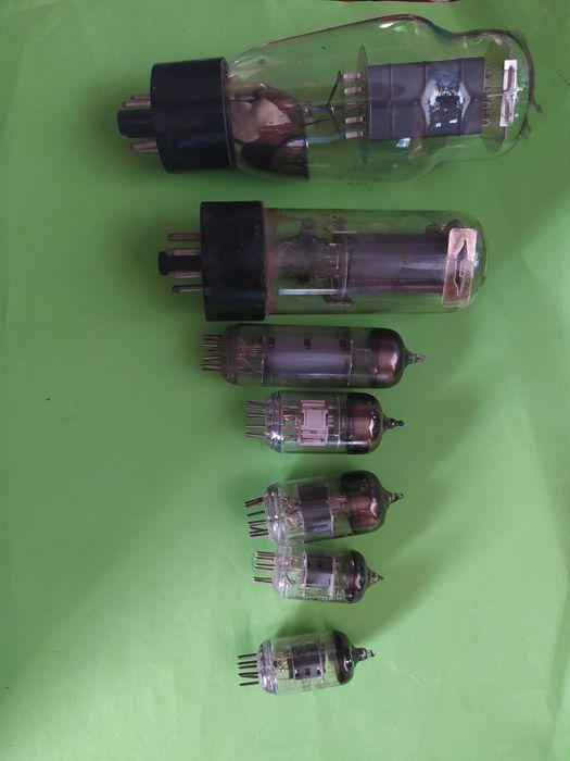 Радиолампы ссср цена за все Маньковка - изображение 1