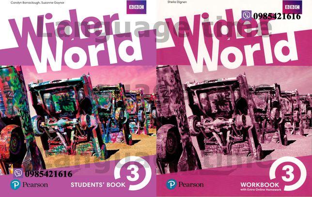 Wider World 3 Student's Book + Workbook