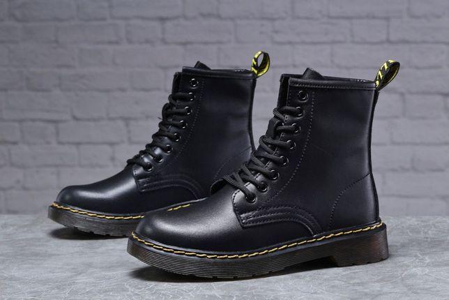 Зимние женские ботинки 31830 Dr.Martens, черные