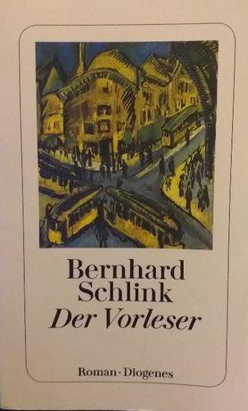 """Bernhard Schlink ,,Der Vorleser"""" plus książka z opracowaniem"""