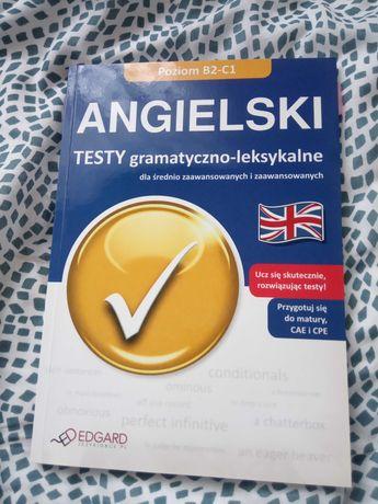 Testy Angielski B2-C1, gramatyka, leksyka (tylko 7 testów wypełniona)