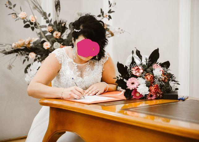 Suknia ślubna. Suknia biała