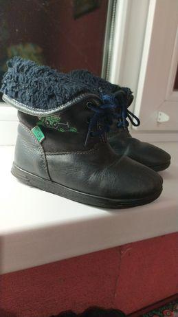 Ботинки кожаные весна-осень