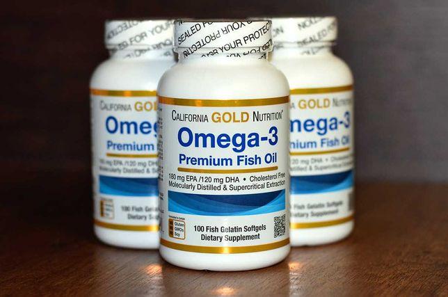 Омега-3 (рыбий жир) 100капсул