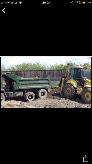 Аренда Услуги экскаватора.Демонтаж.Вывоз мусора.Дост песка в Одессе Одесса - изображение 1