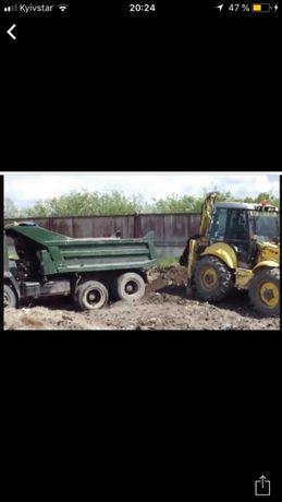 Аренда Услуги экскаватора.Демонтаж.Вывоз мусора.Дост песка в Одессе