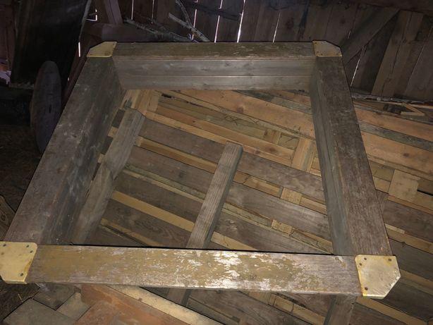 Piaskownica Drewniana do odświeżenia