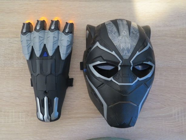 Black Panther Marvel maska i pazury Czarna Pantera Avengers