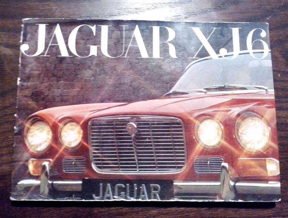 Jaguar XJ6 Catálogo Vendas