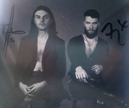 Hurts - Faith (z autografem Adama i Theo)