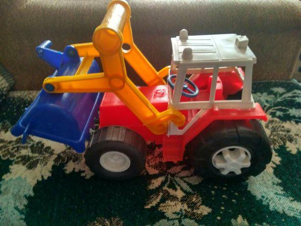 Детский экскаватор .Машинка - эскаватор