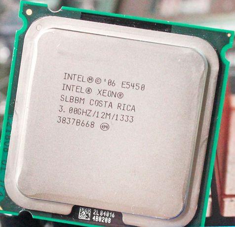 E5450 E0 SLBBM с переходником (уже наклеен) без пропилов Xeon Е5450