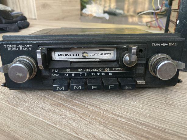 Radio Pioneer + equalzier zeus samochodowy vintage