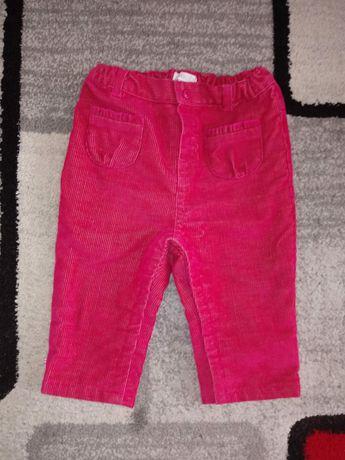 Spodnie r.74. Spodnie dla dziewczynki.