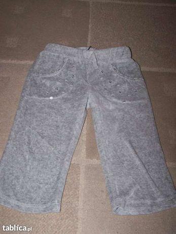 Spodnie dziewczęce rozm. 86