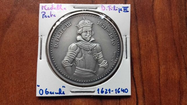 Medalha de Prata de D. Filipe III, O Grande